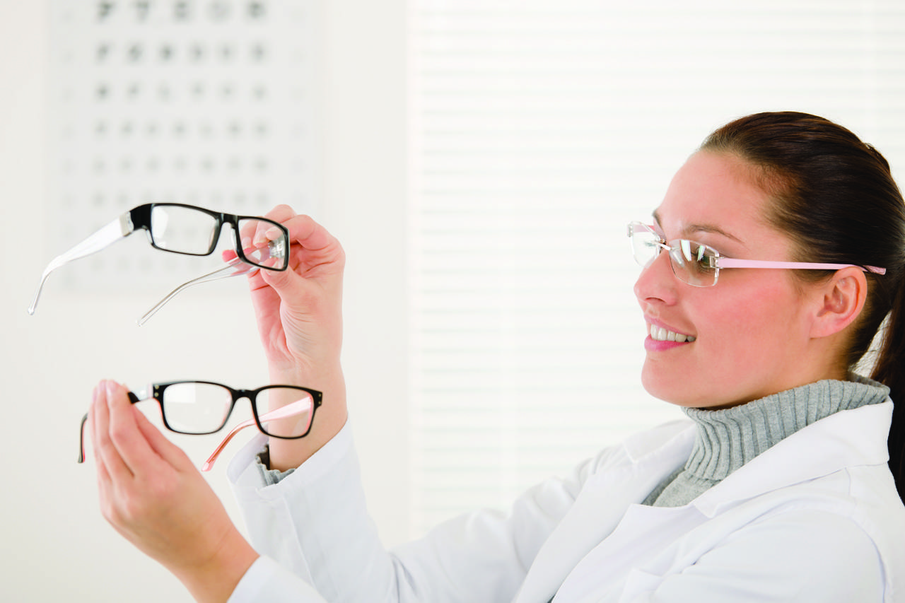 choosing glasses background