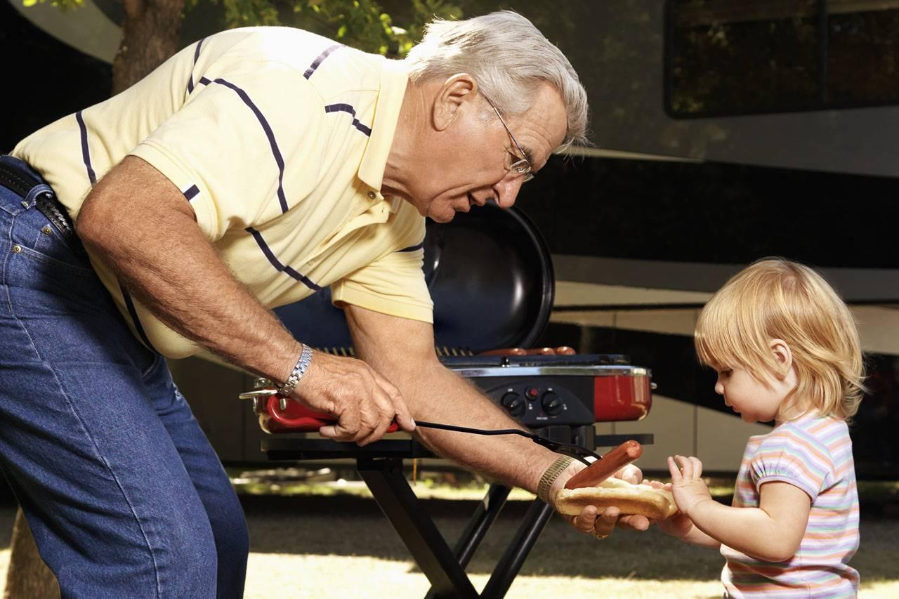 Glaucoma, grandfather - grandaughter, concord, On