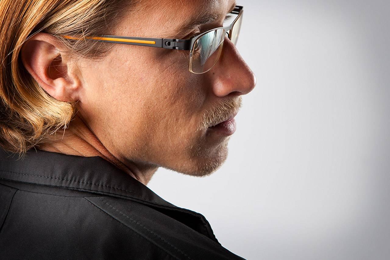 bluetech man in glasses