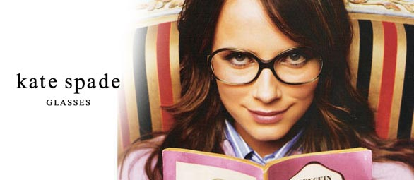Kate Spade Glasses ad