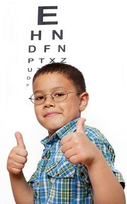 Boy in Eyeglasses in Philadelphia, Pennsylvania