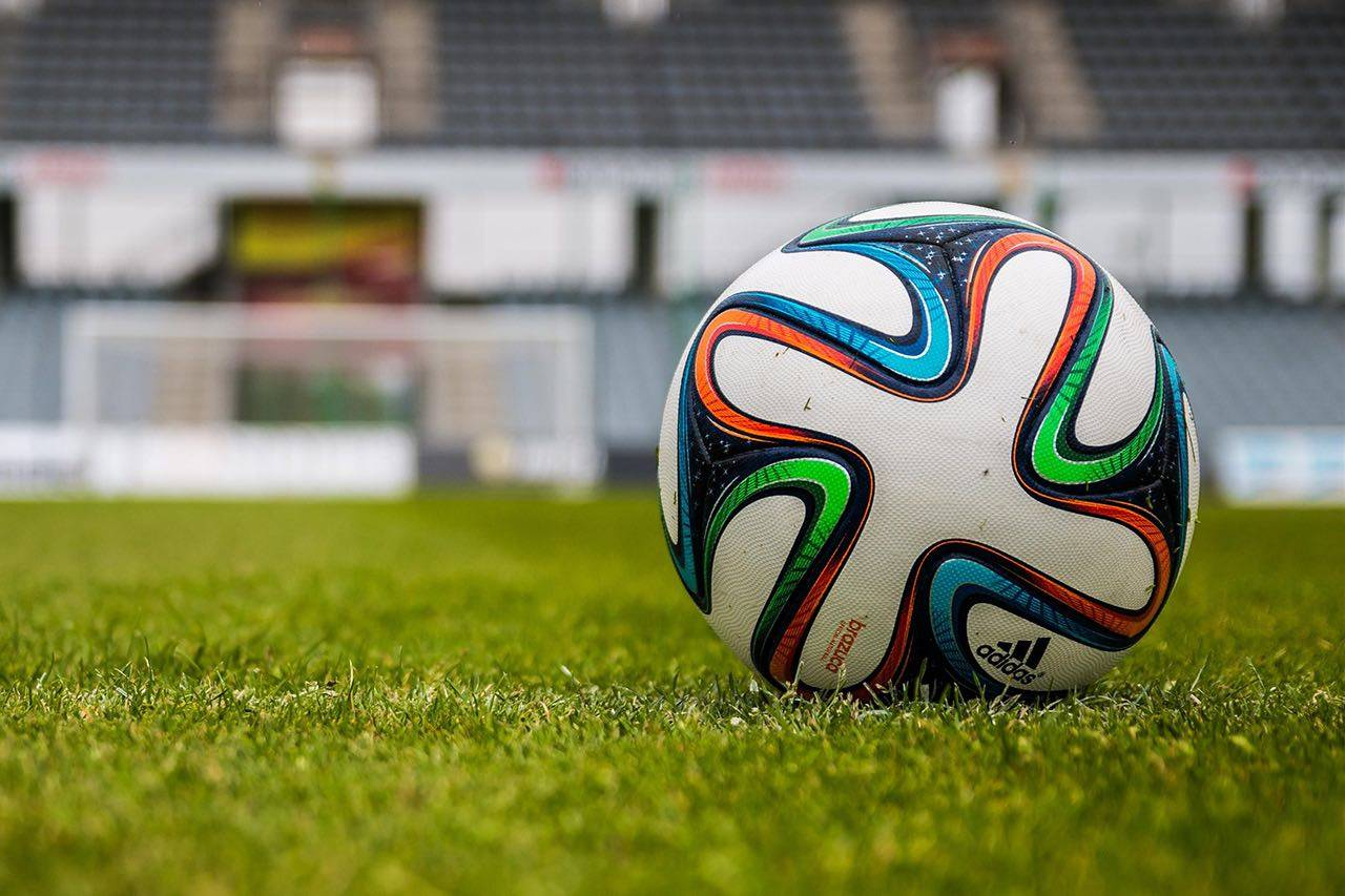 Sport soccerball stadium bkground med