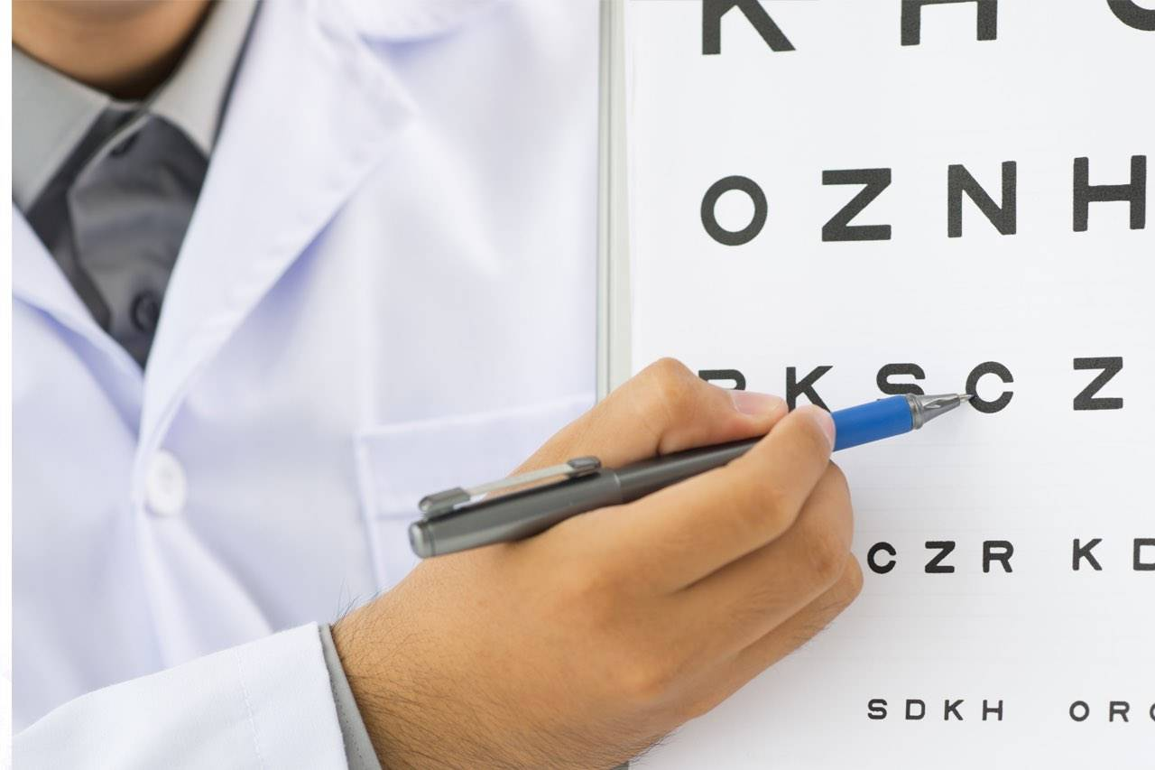 eyechart doctor