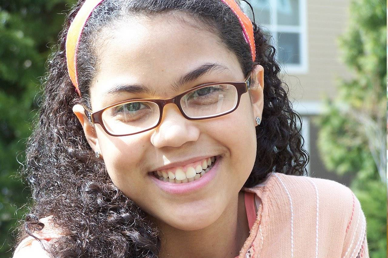 glasses african american teen
