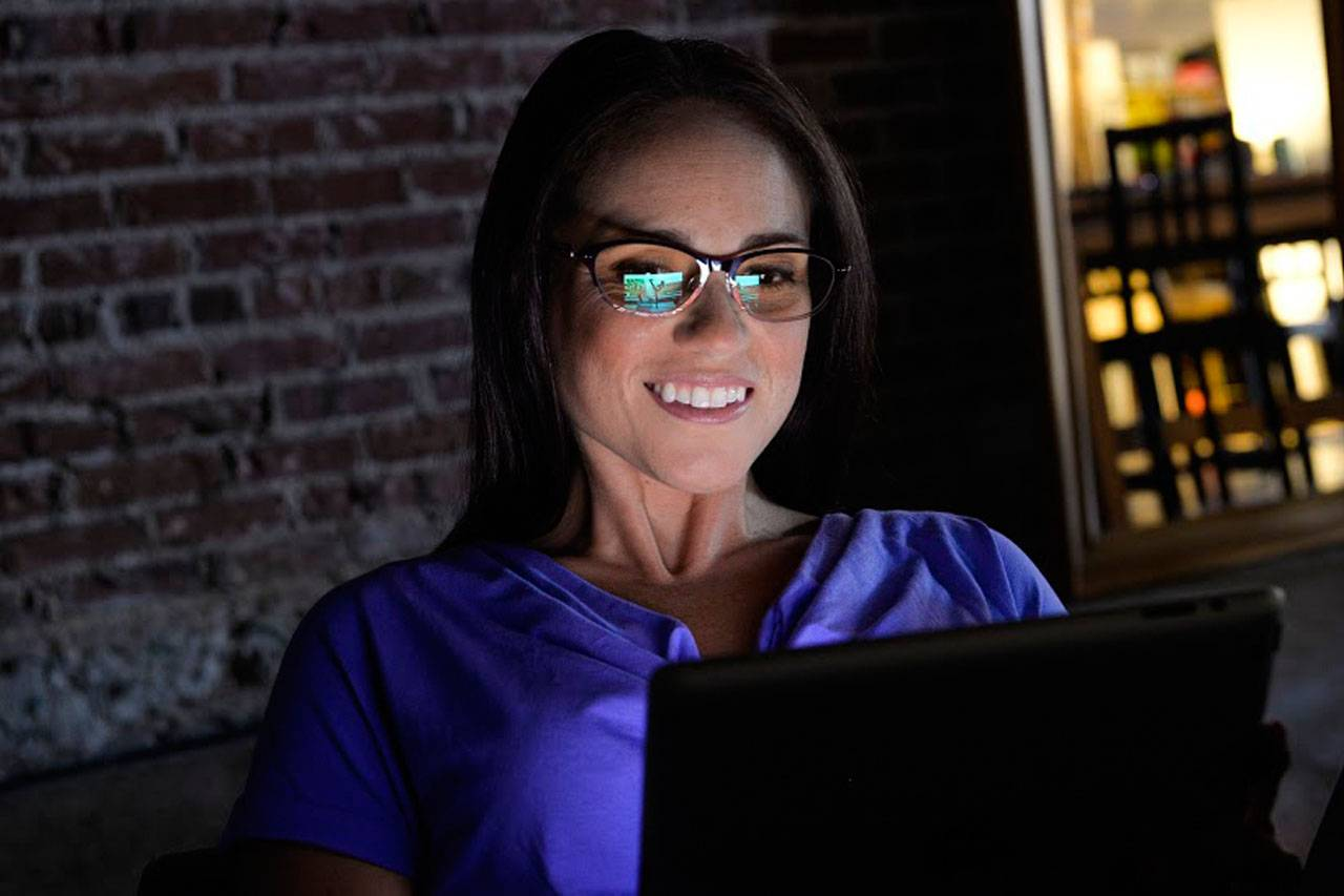 woman eyeglasses for computer use | Atlanta, GA