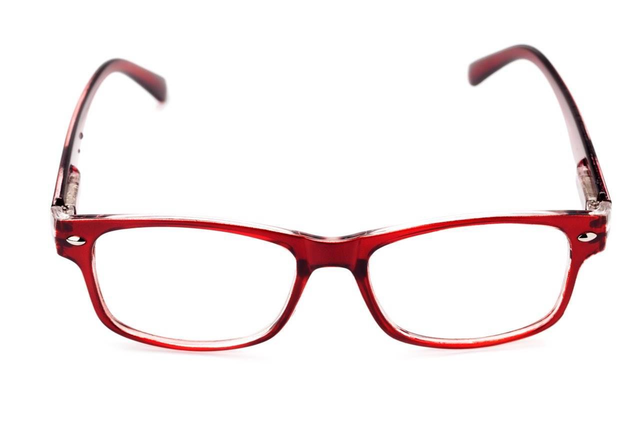 glasses red white