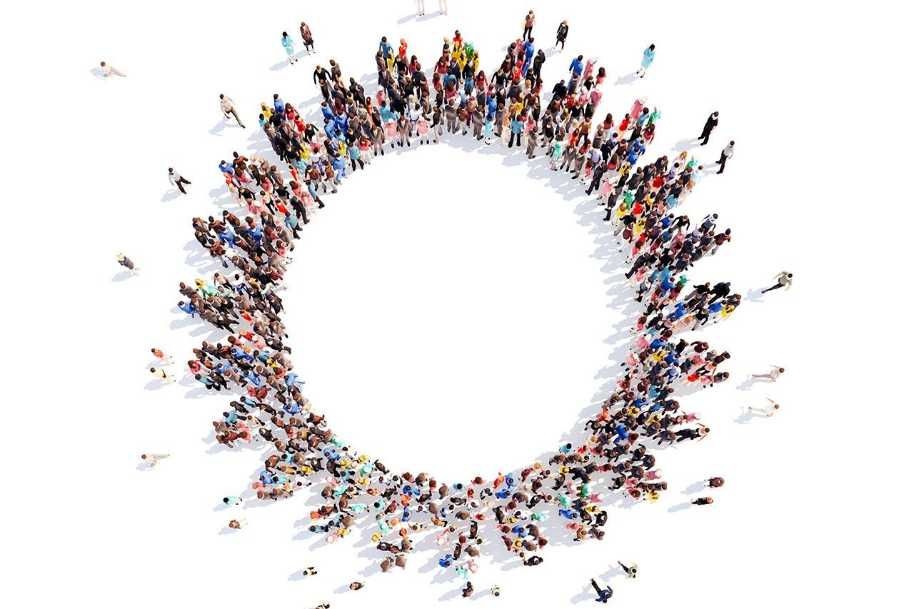 group-of-people-round