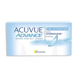 Acuvue Advance for Astigmatism at mondo optical cicera NY