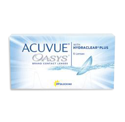 Acuvue Oasys Hydraclear Plus at mondo optical cicera NY