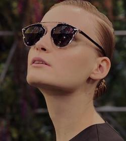 Dior eyewear at Visionary Eye Care in Fairlawn, NJ.