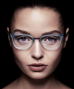 Eye care, woman wearing glasses with nerdwax in Picayune and Pearl River, LA