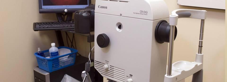 eye exam machine in southfield mi